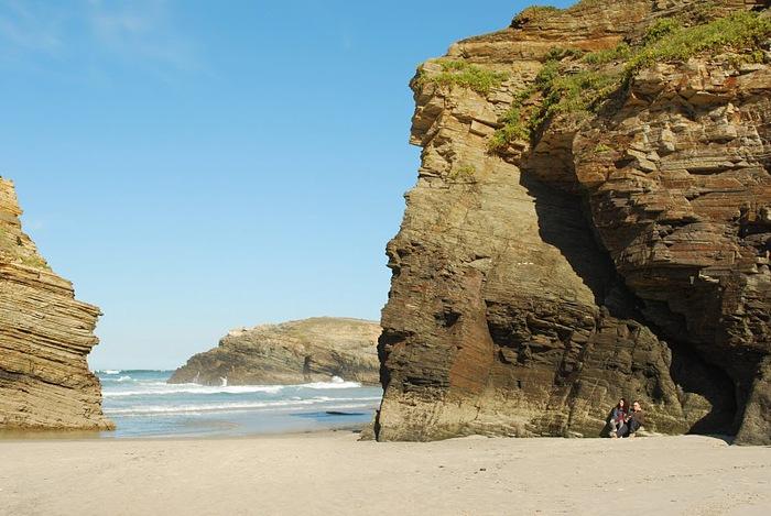 Playa de las catedrales 37586