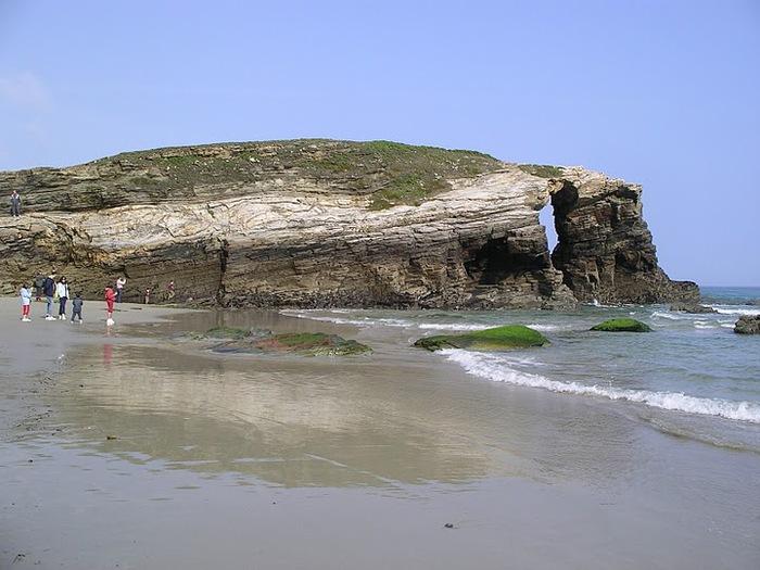 Playa de las catedrales 54577