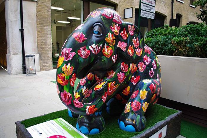 Парад Слонов в Лондоне 2010 74087