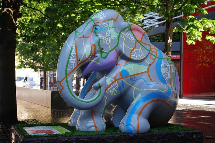 Парад Слонов в Лондоне 2010 29757