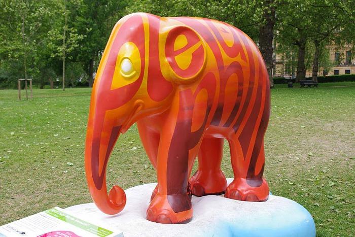 Парад Слонов в Лондоне 2010 32425