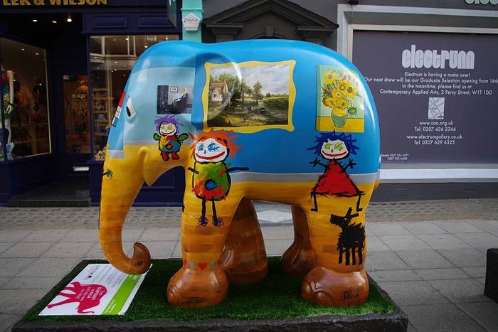 Парад Слонов в Лондоне 2010 19233