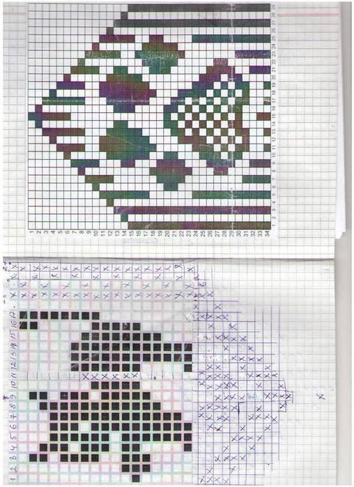 Cats Diagram For Knitting Socks And Mitterns Make Handmade