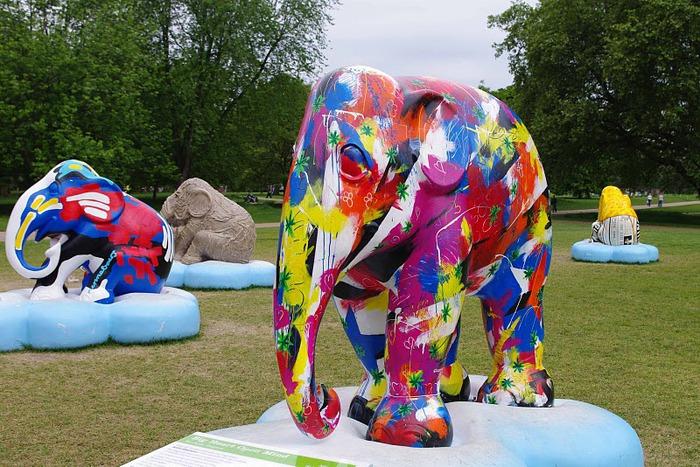 Парад Слонов в Лондоне 2010 60144