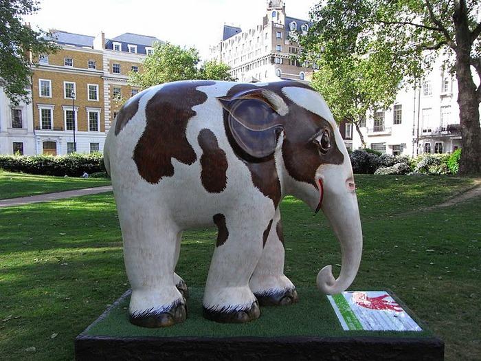 Парад Слонов в Лондоне 2010 69522