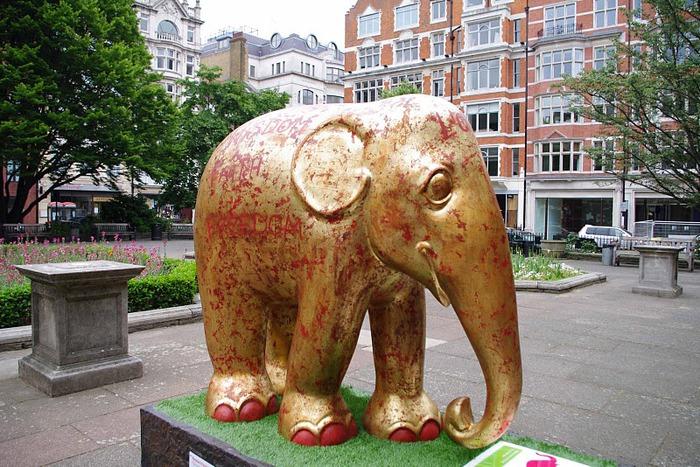 Парад Слонов в Лондоне 2010 30786