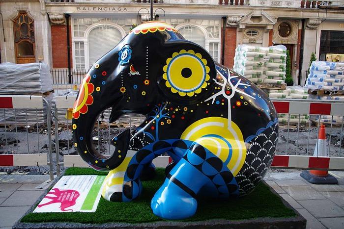 Парад Слонов в Лондоне 2010 33165
