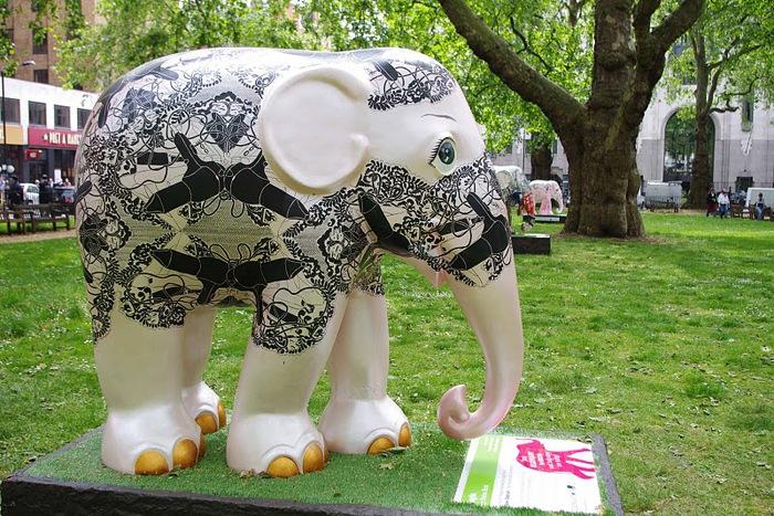 Парад Слонов в Лондоне 2010 18632