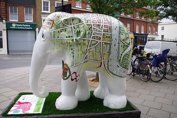 Парад Слонов в Лондоне 2010 11717
