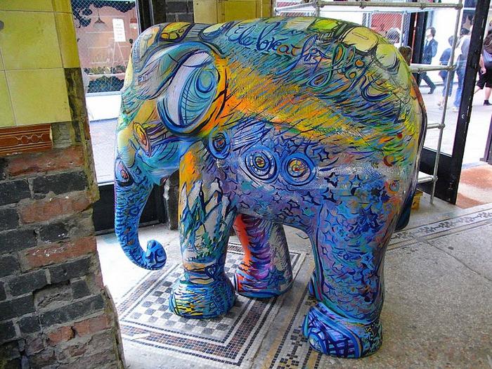 Парад Слонов в Лондоне 2010 11747