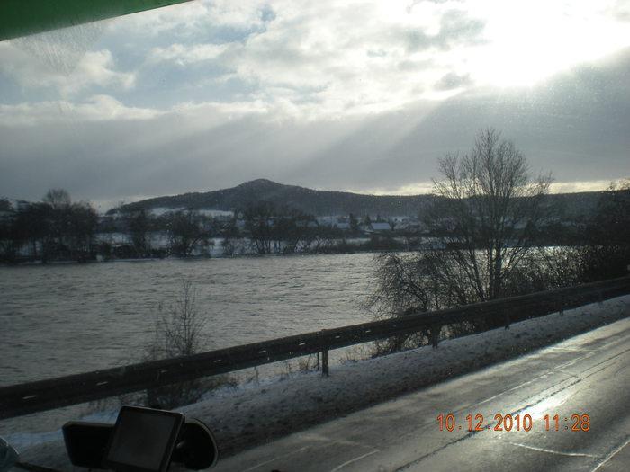 Зимние дороги чехии