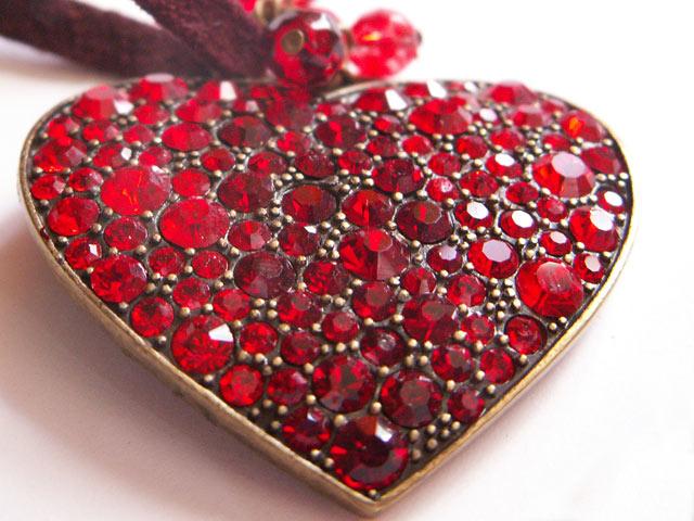 ДВ сердце из камней граната (640x480, 83 Kb)