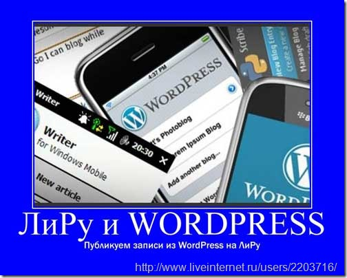 ЛиРу-wordpress