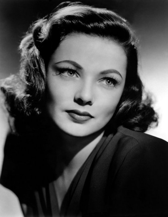 Джин Тирни. Одна из первых красавиц Голливуда 1940-х годов ...
