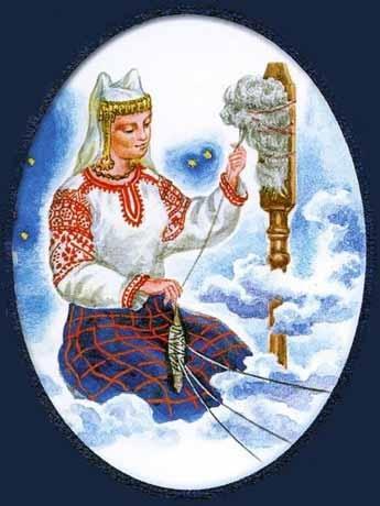 Покровительница счастья и богатства у славян Макоша
