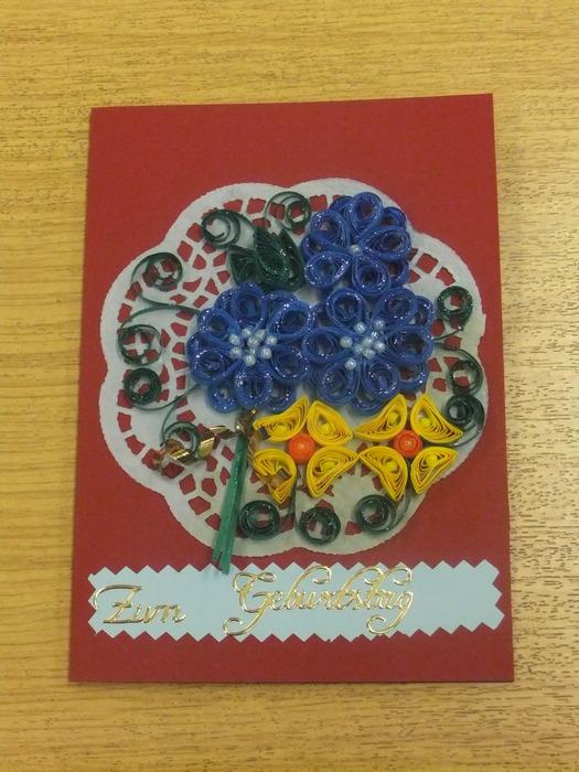 открытки в технике квиллинг 39811