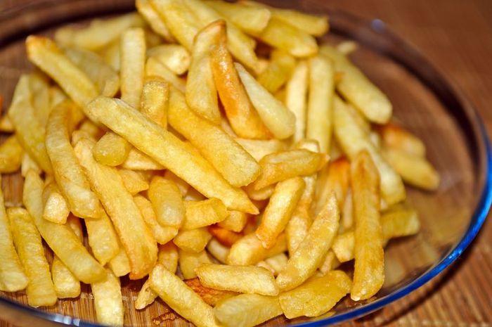 Закуска к пиву | Приготовление картофеля фри