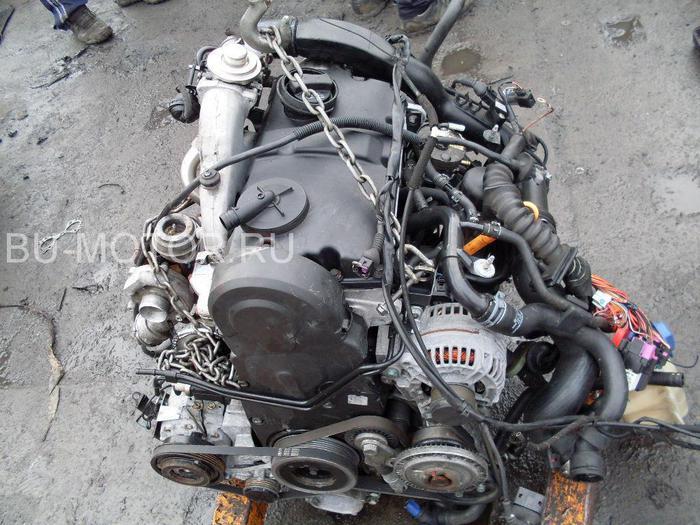 Фото двигателя пассат б5