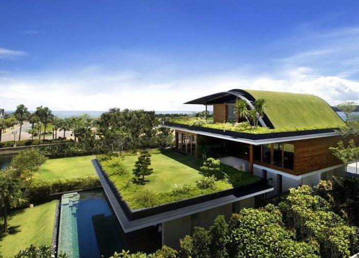 Творческий проект дома от Guz Architects