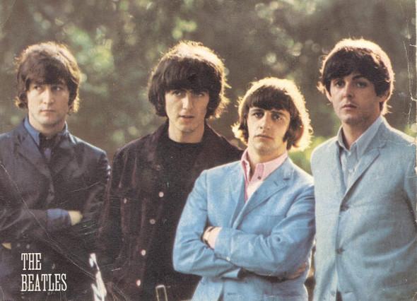 The Beatles в начале своей