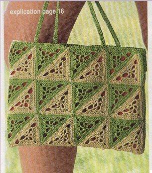bags crochet pattern