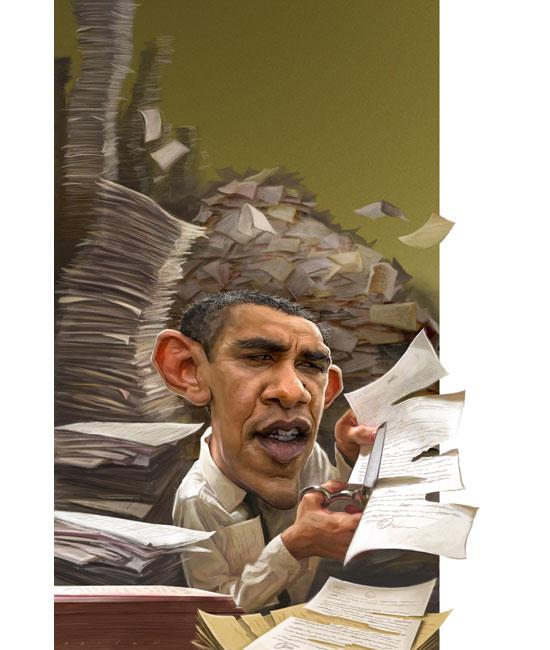 Президент США Джейсона Сейлера (карикатуры)