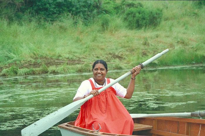 Индия Шри Мата Амританандамайя