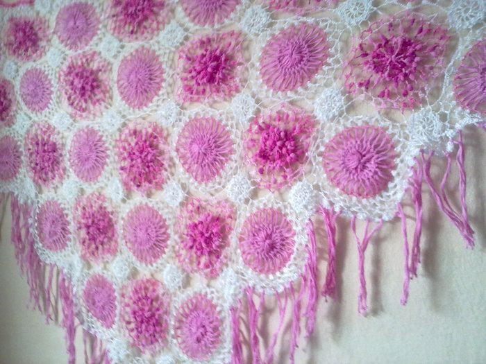 beauty shawl crochet