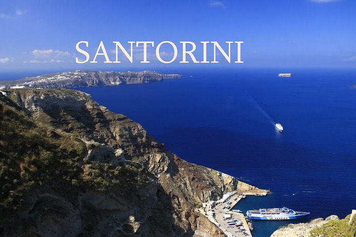 Остров Санторини – вулканическая красота. 48525
