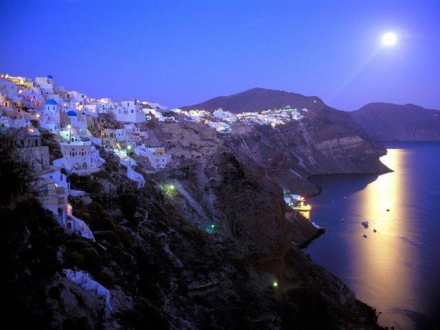 Остров Санторини – вулканическая красота. 45677