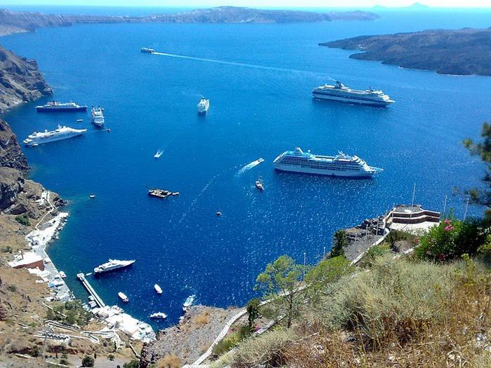 Остров Санторини – вулканическая красота. 65297