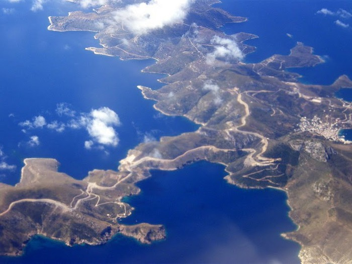 Остров Санторини – вулканическая красота. 48449
