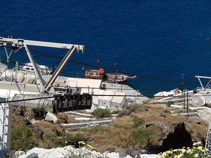 Остров Санторини – вулканическая красота. 85644