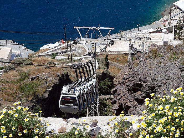 Остров Санторини – вулканическая красота. 45187