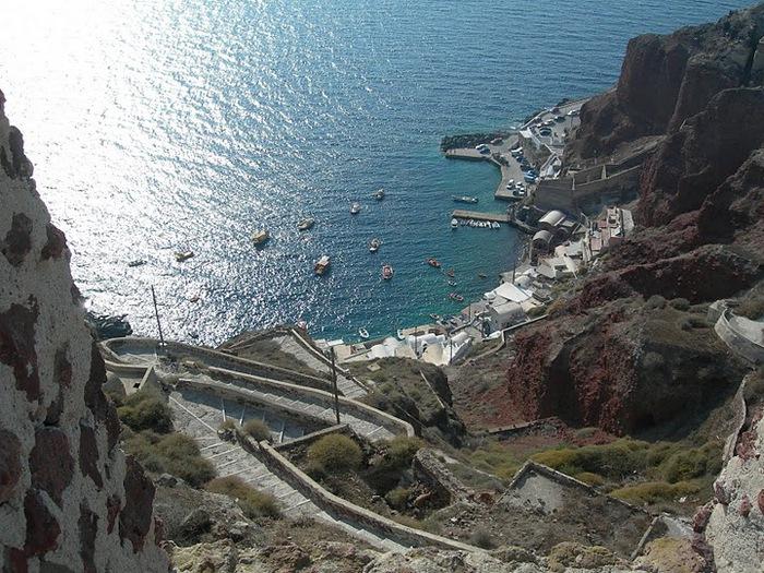 Остров Санторини – вулканическая красота. 72863