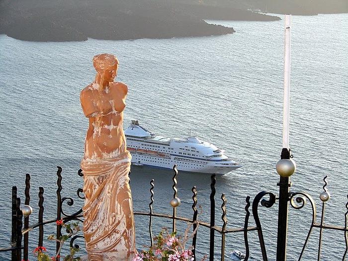 Остров Санторини – вулканическая красота. 35340