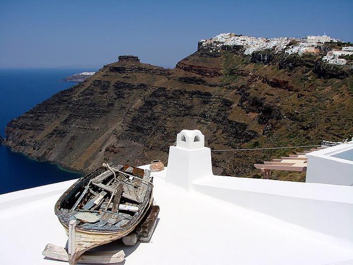 Остров Санторини – вулканическая красота. 25074