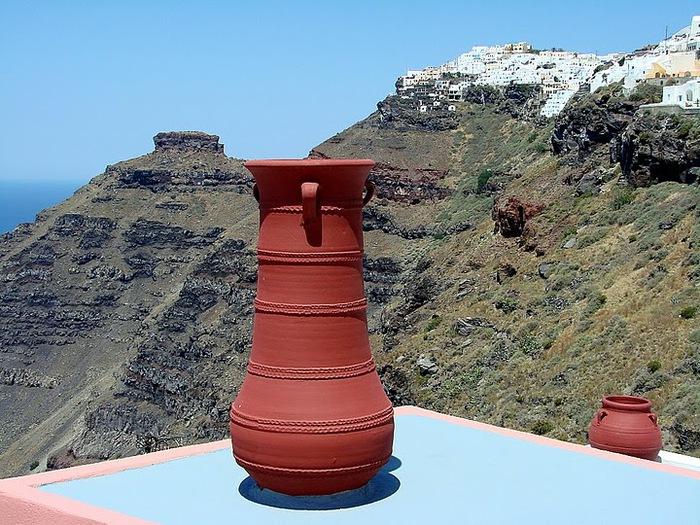 Остров Санторини – вулканическая красота. 21037