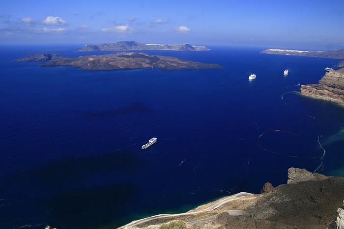 Остров Санторини – вулканическая красота. 55430