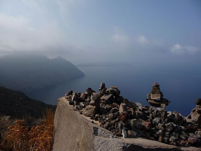 Остров Санторини – вулканическая красота. 45670