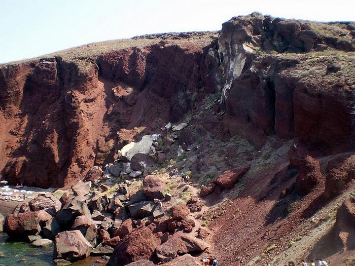 Остров Санторини – вулканическая красота. 45964