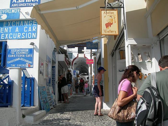 Остров Санторини – вулканическая красота. 44821