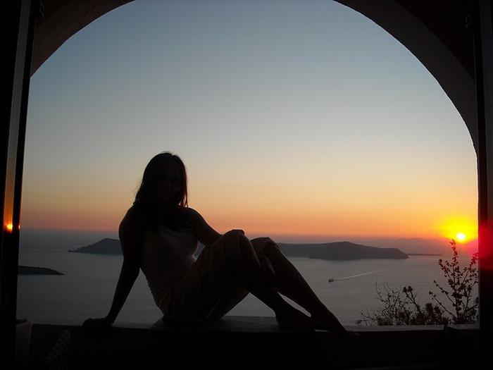 Остров Санторини – вулканическая красота. 39816