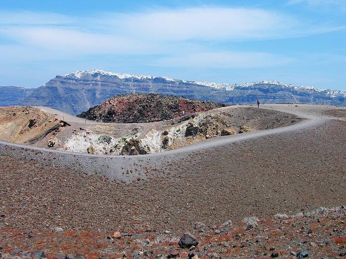 Остров Санторини – вулканическая красота. 13156