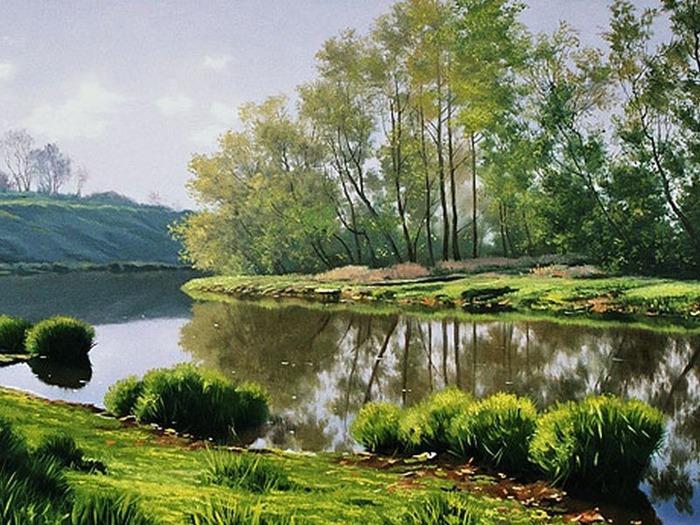 весенние пейзажи 3