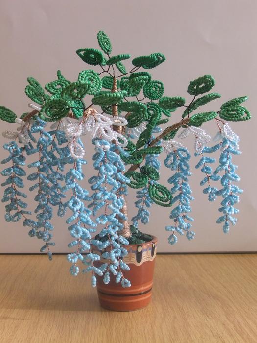Деревья из бисера. 75858