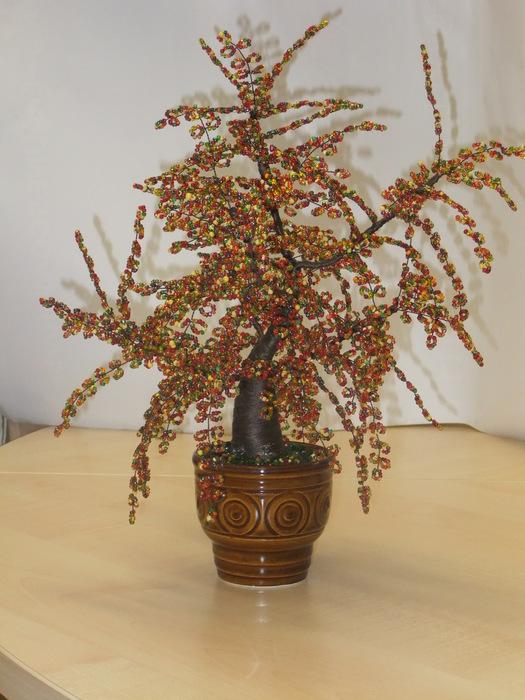 Деревья из бисера. 99796