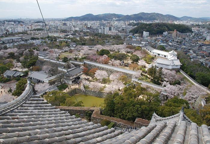 Замок Химедзи - Himeji Castle 58999