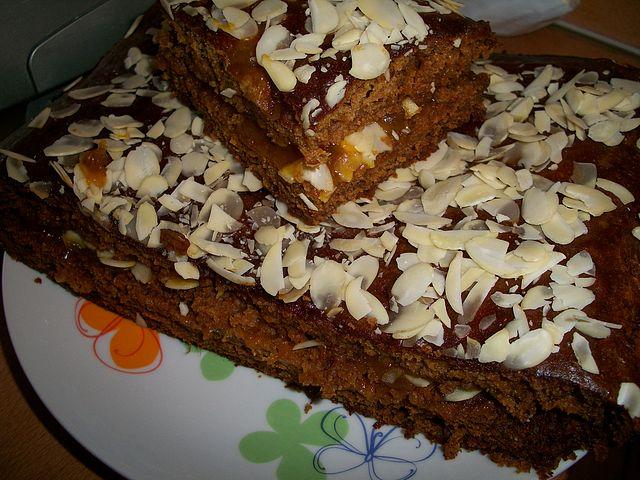 Пирог ВСЕГДА РАЗНЫЙ с миндально-абрикосовой начинкой