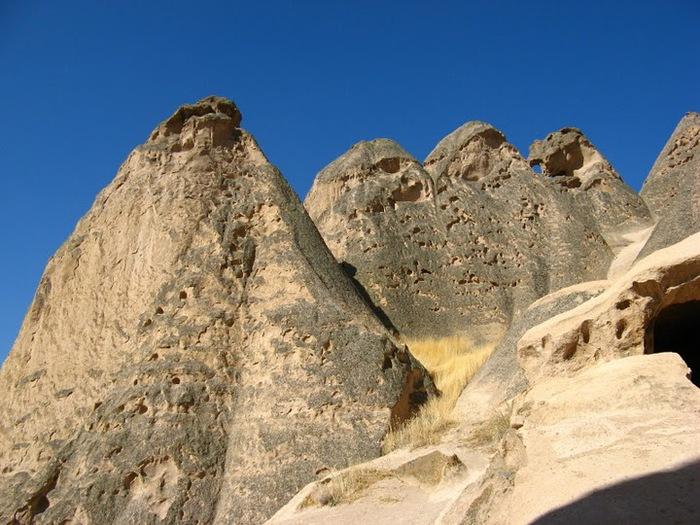 вырубленный в скалах - монастырь Селиме (Selime) 76457